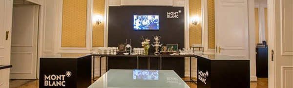 "NORDLITE inszenierte ""Montblanc Black & White Week"" in Hamburg"
